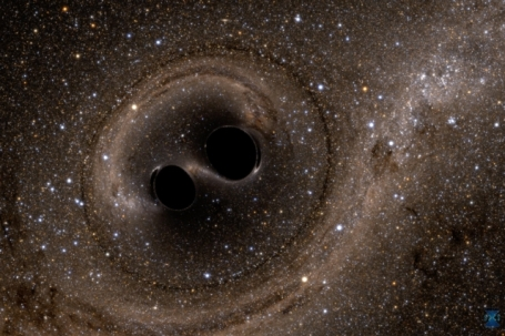 If two Black Holes crash in deep space, and there is no detector to hear them, do they still make a Gravitational Wave?